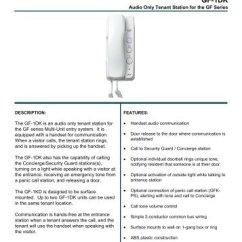 Aiphone Intercom Wiring Diagram Lawn Mower Starter Switch Gf Great Installation Of Detailed Diagrams Rh 44 Sydneyconvicts Film De