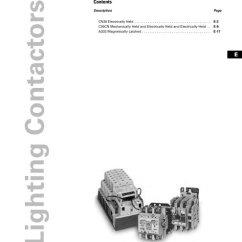 Eaton C30cn Lighting Contactor Wiring Diagram 1984 Evinrude 115 E 16 Tab Contactors Pdf Canada