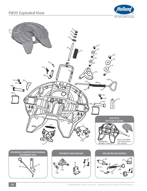 FW35 Exploded View 34A 52