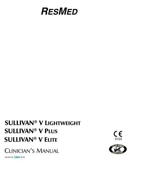 RESMED SULLIVAN ® V LIGH