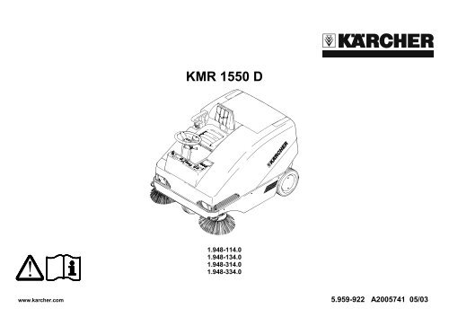 Notice Karcher Hd 615c