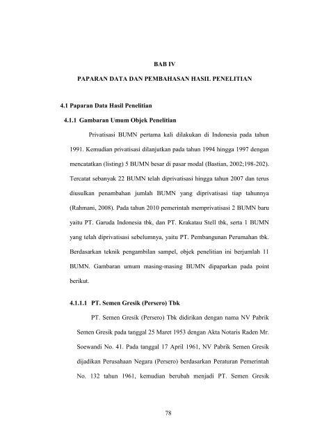 PDF BAB IV HASIL PENELITIAN DAN PEMBAHASAN 4.1 Hasil Penelitian