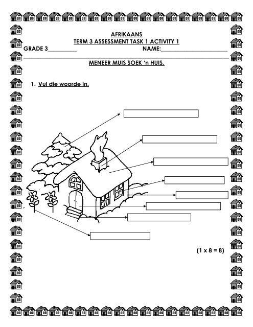 afrikaans term 3 assessment task 1 activity 1 grade 3