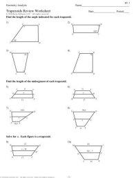 6-Properties of Trapezoids - Kuta Software