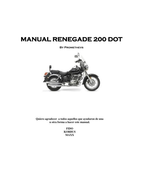 manual renegade 200 dot manual renegade 200 dot