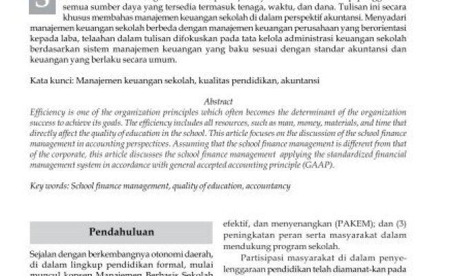 Contoh Laporan Keuangan Sekolah Swasta 2009 Kumpulan Contoh Laporan Cute766
