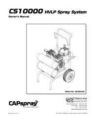 Capspray 9100 Sherwin Williams