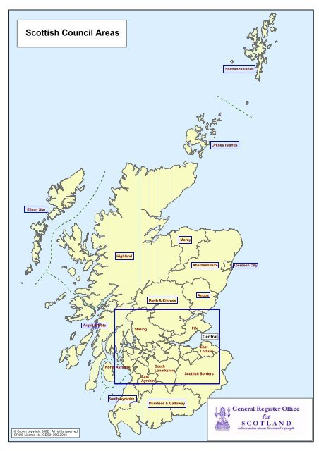 scottish council areas scrol