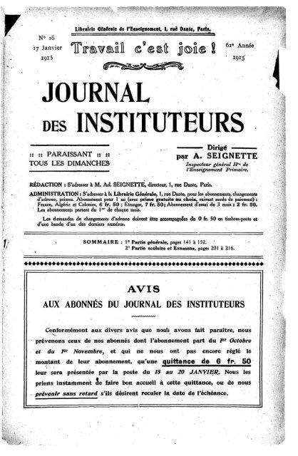 Comment Retrouver Un Ancien Instituteur : comment, retrouver, ancien, instituteur, JOURNAL, INSTITUTEURS