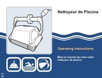 Instructions De Fonctionnement Des Nettoyeurs De Piscine Center