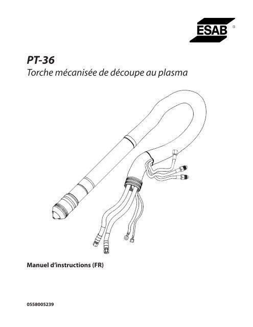 Torche mécanisée de découpe au plasma