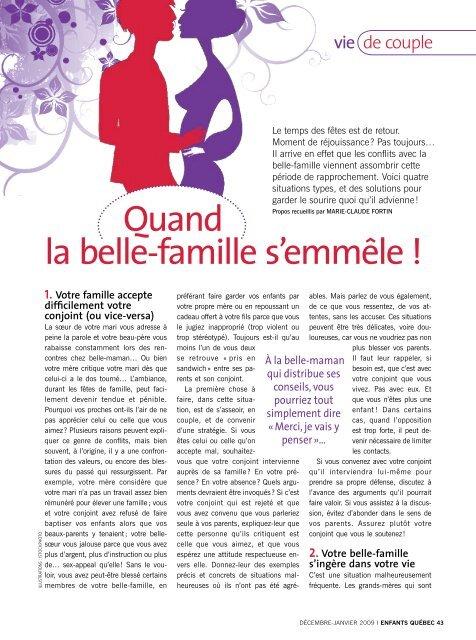 La Belle Famille Dans Le Couple : belle, famille, couple, Quand, Belle-famille, S'emmêle, François, Père