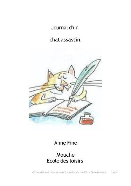 Le Journal D'un Chat Assassin : journal, assassin, Journal, Assassin., Mouche, Ecole, ASH76