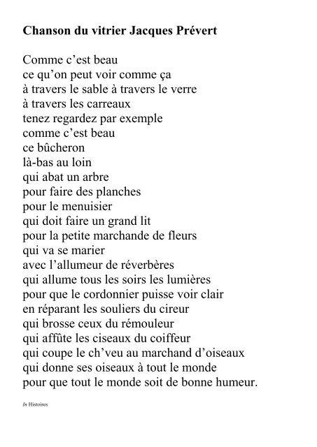 Poème Sur La Nature De Jacques Prévert : poème, nature, jacques, prévert, Adindaaa:, Poème, Nature, Jacques, Prévert