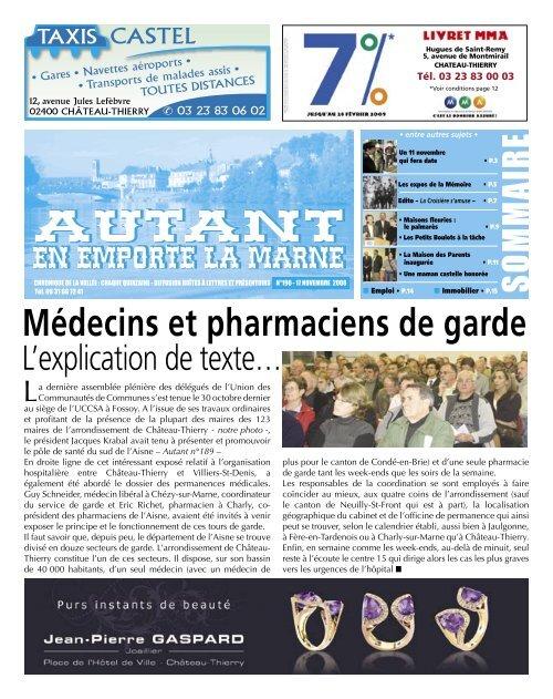 Autant En Emporte La Marne : autant, emporte, marne, EDITION, AUTANT, N°190, Autant, Emporte, Marne