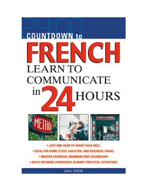 Je Cuisine Pour Mon Chat Pdf : cuisine, Countdown, French, Learn, Communicate, Hours.pdf