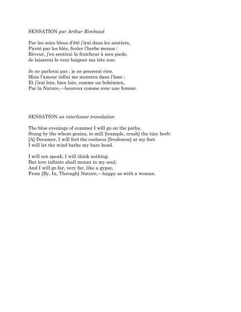 Par Les Soirs Bleus D'été : soirs, bleus, d'été, Citation, Amour, Rimbaud, 292996-Citation