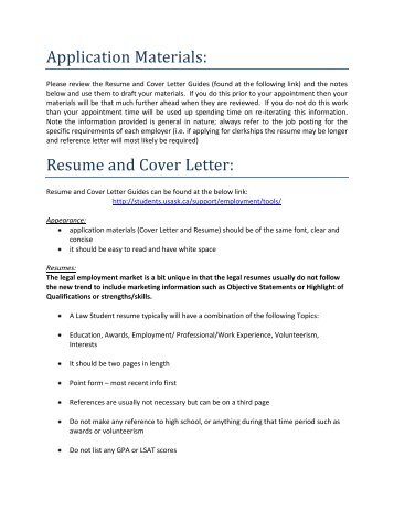 Sample Email For Sending Resume And Cover Letter