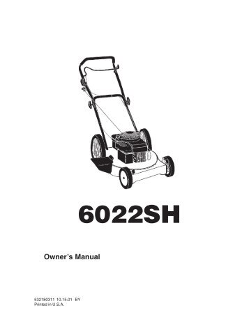 Husqvarna GX560 Hover Mower Operators Manual