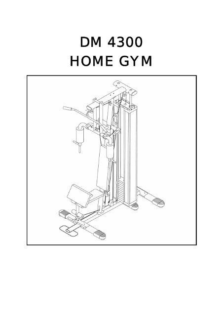 DM 4300 HOME GYM