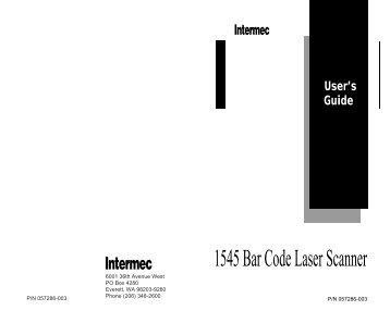 Intermec Sf51 Scanner Manual download free software