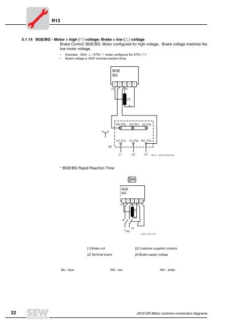 Wiring Diagram For High Voltage Motor