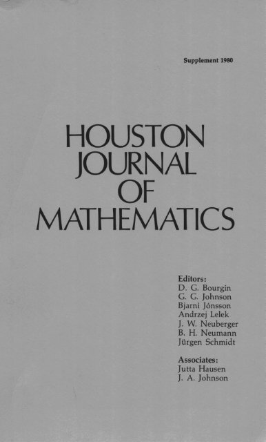 Supplement 1980: Finitely Additive Set Functions