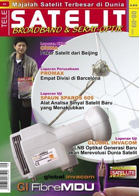 Jumlah Satelit Di Dunia : jumlah, satelit, dunia, 08-09, TELE-satellite, International, Magazine