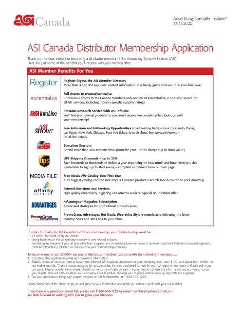 Asi Membership