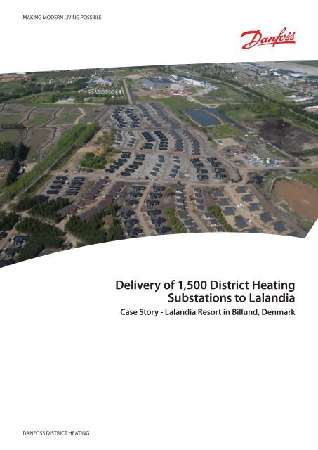 Delivery Of 1 500 District Heating Substations To