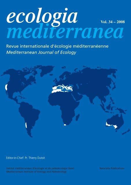Revue internationale dcologie mditerranenne Mediterranean