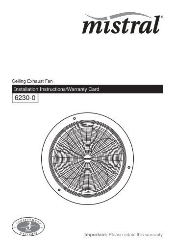 installation instructions f1087 02 mistral ceiling exhaust clipsal?resize=358%2C507&ssl=1 hpm ceiling sweep fans integralbook com hpm ceiling fan wiring diagram at readyjetset.co