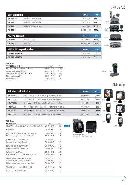 Instrumenter og NMEA 2000