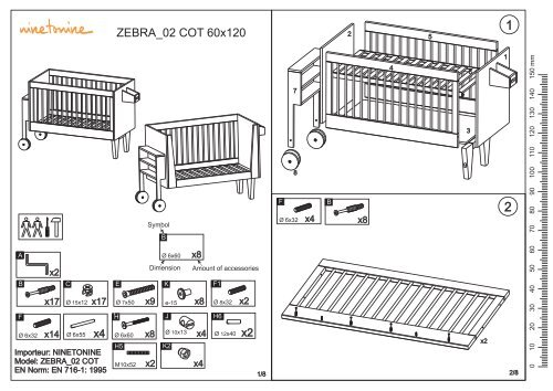 notice de montage du lit bebe evolutif
