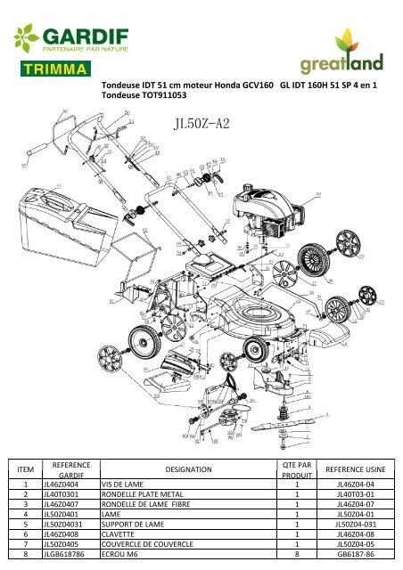 JL50Z-A2GCV135 liste ref page 2