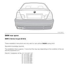 Bmw E60 Towbar Wiring Diagram T8 Fluorescent Light Fixture For 2 Ballast Rear Lights Diagrams Auto Parts