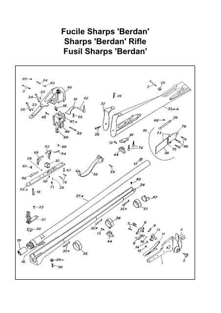 Fucile Sharps 'Berdan' Sharps 'Berdan' Rifle Fusil