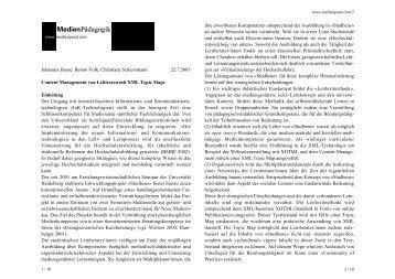 Leittextmethode Magazine