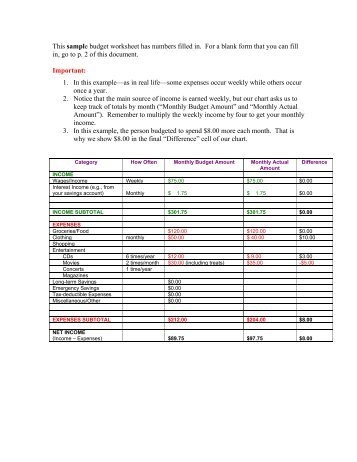 Indian Wedding Budget Worksheet - Marigold Events