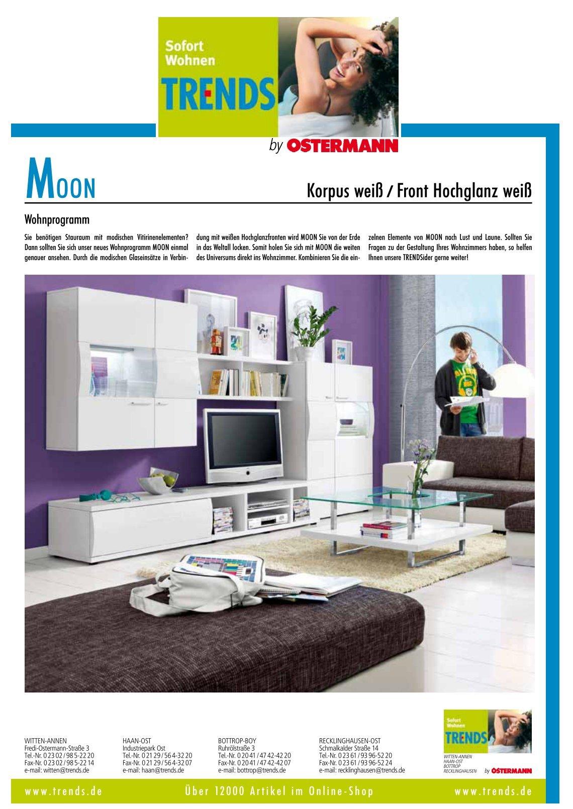 Ostermann Trends Wohnzimmer Schlafzimmer Set Trends