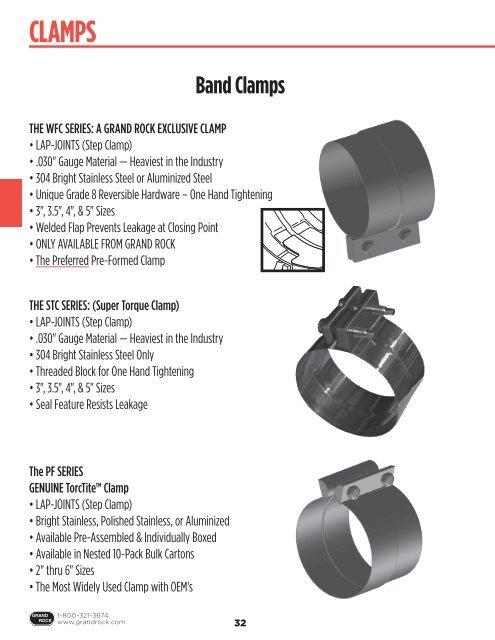https www yumpu com en document view 22092205 clamps grand rock truck exhaust systems
