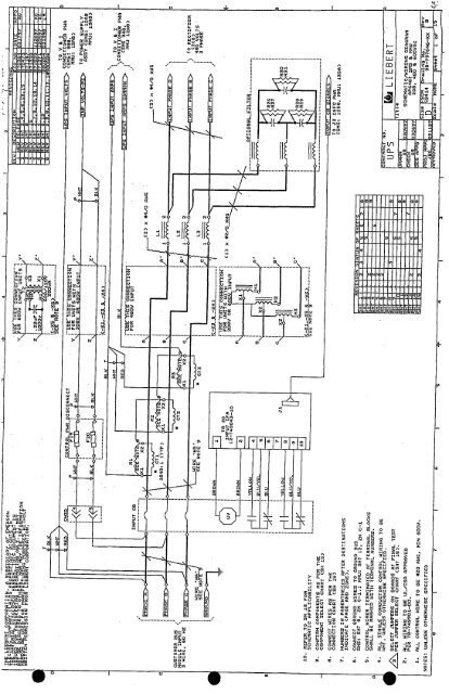 liebert schematic wiring diagrampdf  gruber power