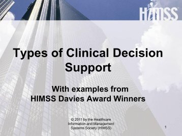TypesExamples of Visual Control himss