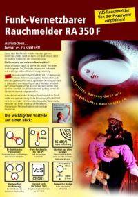 Funkrauchmelder RA 350 F (PDF) - Gentsch Brandschutz
