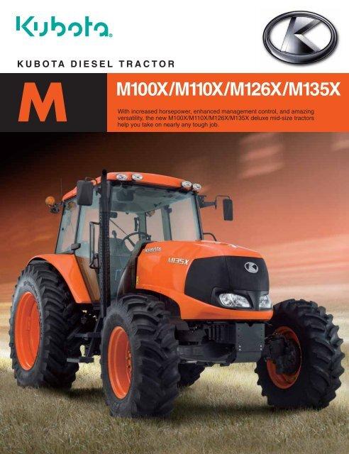 Kubota 70 Hp Tractor : kubota, tractor, Kubota, Diesel, Tractor, M100x/m110x/m126x/m135x, LiveUpdater
