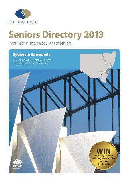 Sydney Surrounds 2013 Discount Directory Seniors Card