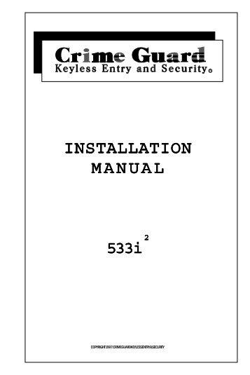 installation manual 533i car alarm?resize\=357%2C535\&ssl\=1 autopage rf 350 wiring diagram wiring diagrams interesting Code Alarm Installation at eliteediting.co