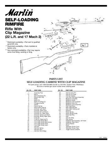 Remington Nylon 66 Rifle Disassembly with