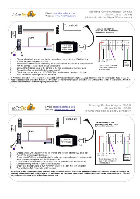 Head Unit Iso Wiring Diagram