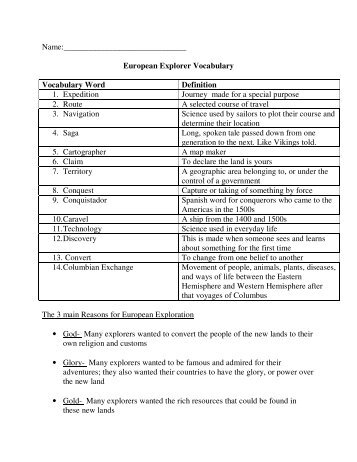 Frankenstein Vocabulary List word page part definition 1